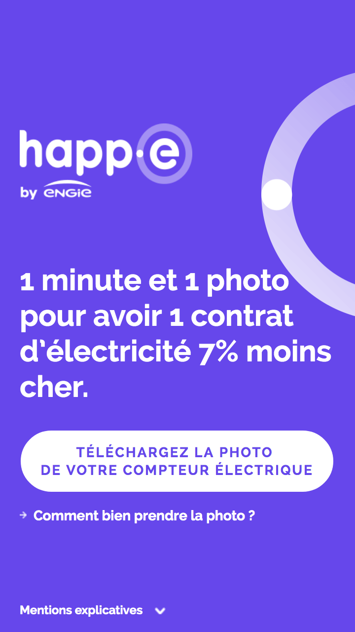 Happ-e 1 minute by Engie